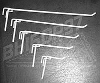 Крючок одинарный на трубу (КОТ-100). Торговые крючки на штангу 20мм, 40мм. Торговое оборудование.