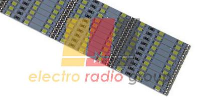 Светодиодная линейка L2835W72 белого свечения 72 светодиода длина 1м