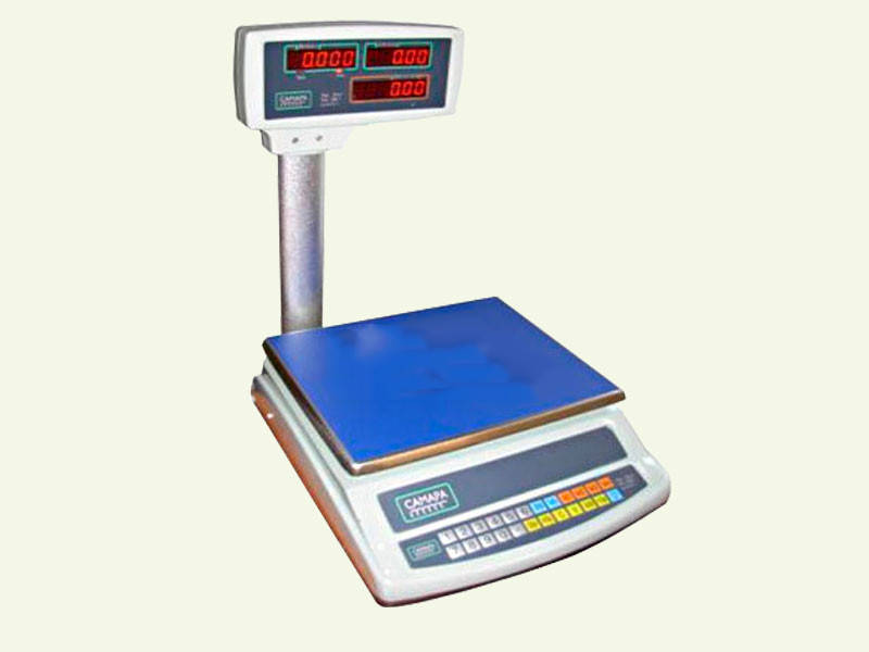 Торговые электронные весы ВТЕ-30-Т2-СМ до 30 кг.