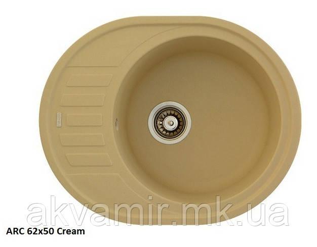 Мийка Fabiano Arc 62x50 Cream (кремовий)