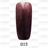 Гель-лак Adore Professional № 015 (сливовый с золотистым микроблеском), 9 мл ADR/96