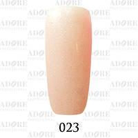 Гель-лак Adore Professional № 023 (бежево-персиковый с микроблеском), 9 мл ADR/96