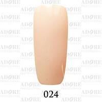 Гель-лак Adore Professional № 024 (персиковый), 9 мл ADR/96