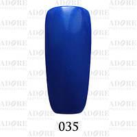 Гель-лак Adore Professional № 035 (ультрамарин с шиммером), 9 мл ADR/96