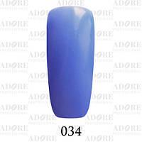 Гель-лак Adore Professional № 034 (лазурный), 9 мл ADR/96