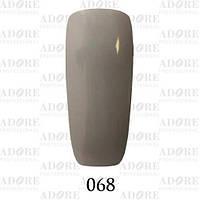Гель-лак Adore Professional № 068 (кварцевый серый), 9 мл ADR/96