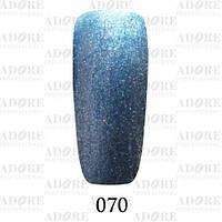 Гель-лак Adore Professional № 070 (лазурный хром), 9 мл ADR/96