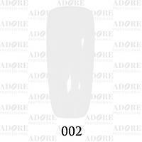 Гель-лак Adore Professional № 002 (белый), 9 мл ADR/96