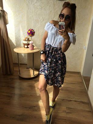 Женское летнее платье №146-034