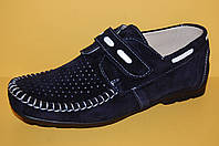 Туфли летние кожаные ТМ Alexandro код 1579 размер  32-39