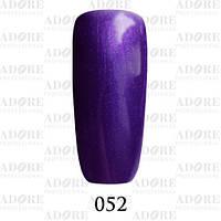 Гель-лак Adore Professional № 052 (фиалковый с перламутром) 9 мл /96