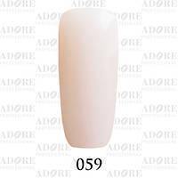 Гель-лак Adore Professional № 059 (пастельный розовый френч) 9мл /96