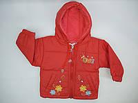 Куртка на осень для девочки 74-92 р