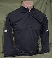 CoolMax футболка-реглан  полиции Великобритании ,  черная  оригинал. НОВАЯ
