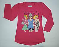 Модная кофточка с длинным рукавом для девочки