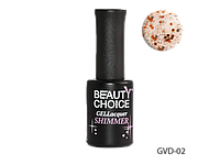 Гель-лак Beauty Choice Shimmer 10 мл LDV GVD-02 /6-1