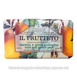 Мыло Nesti Dante Мята и айвовая груша