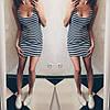 """Короткое платье-тельняшка """"Georgia"""", фото 4"""