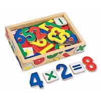 Развивающая игрушка магнитные деревянные цифры  MD449