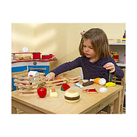 Детский игровой набор  продуктов MD271