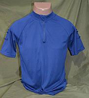 CoolMax футболка полиции Великобритании, синяя  оригинал.