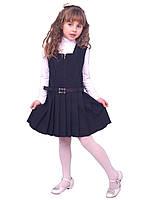 Сарафан школьный для девочки М-665   рост 110-164  синий, фото 1