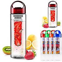 Фитнес бутылочка Fruit bottle (Фрут ботл), 700 мл в подарочной коробке