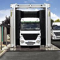 Автоматическая мойка портального типа для грузовых автомобилей KARCHER TB