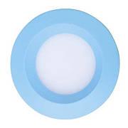 Светодиодный светильник, круг, 3W