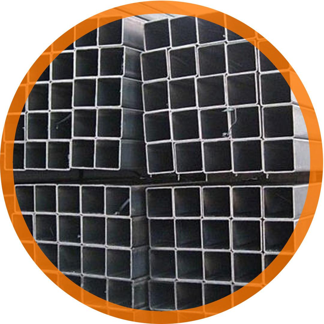 Труба сталева профільна 120х120х10 ст. 20 безшовна