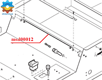 Струна msd00012 для упаковочного аппарата Sirman