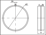 Расширительный бак для систем отопления Sprut FT 6D, фото 3