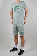 Летний спортивный костюм мужской Nike 1619 Зелёный