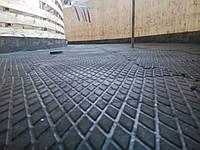 Резиновое модульное покрытие с повышенной износостойкостью.