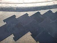 Резиновое напольное покрытие Квадрат