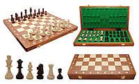 Шахматы резные турнирные из дерева Intarsia