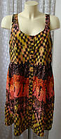 Платье летнее сарафан мини George.р.50 6543а