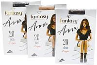 Носки женские Fantasy ANNA 20 Den, 2 пары (черный, телесный, шейди)