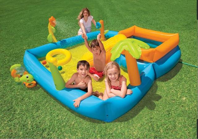 Детские водные игровые центры