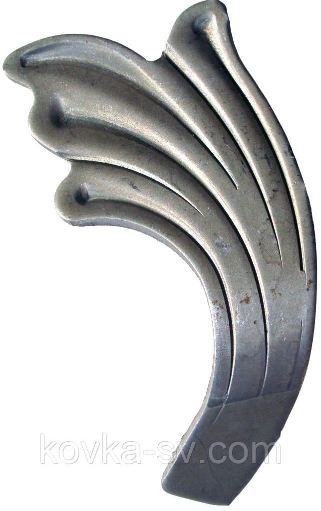 Кованый лист 100х50х2 - «Сварог» Художественная ковка.  Кованые изделия.  Кованые элементы. в Харькове