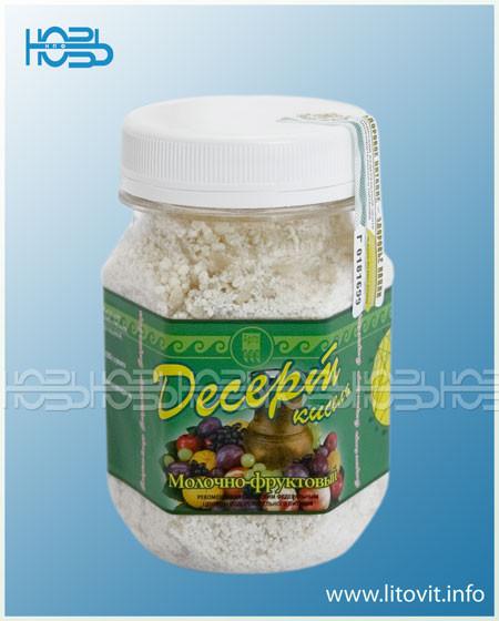 Десерт-кисель молочно-фруктовый - при заболеваниях желудочно-кишечного тракта