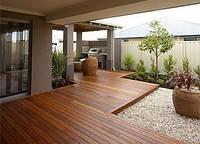 Террасная доска для выкладки садовых дорожек и тропинок