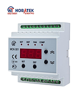 Блок управления средне и низкотемпературными холодильными машинами  МСК-301-8 Новатек Электро