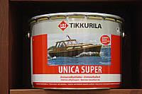 Универсальный износостойкий уретано-алкидный лак для деревянных поверхностей Уника Супер Тиккурила, п/гл, 9л