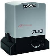 Автоматика для откатных ворот FAAC 740, фото 1