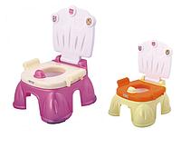 Горшок-стульчик BT-CP-0004, 2 цвета в ассортименте, 34,5*33,7*46,3  см