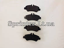 Колодки тормозные (задние) MB Sprinter 209-319 CDI/VW Crafter 30-35 06-