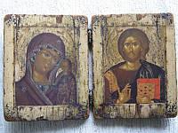 Старинные складни православные иконы