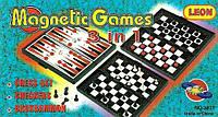 Шахмати на магнітах Magnetic Games 3в1 3831