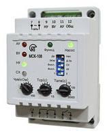 Контроллер насосной станции (реле уровня, реле давления) МСК-108 Новатек Электро